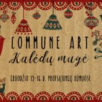 Commune art. Christmas fair