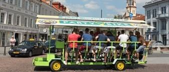 Beer bike in Vilnius